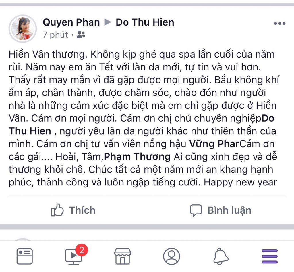 Phạm Quyên Q8-Hiền Vân Spa